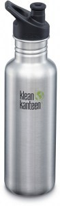 Klean Kanteen Classic Sport Cap Brushed Stainless 800ml