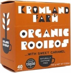 Kromland Farm Organic Rooibos Caramel 40 Teabags