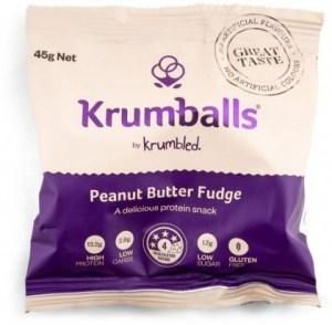 Krumballs Peanut Butter Fudge  12x45g