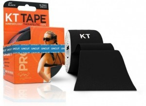 KT Tape Pro 16 ft Uncut Black