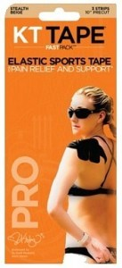 "KT Tape Pro FastPack (3 - 10"" Strips) Beige"