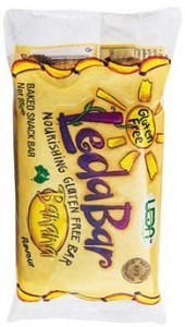 Leda Bar Gluten Free Banana  12 x 85gm