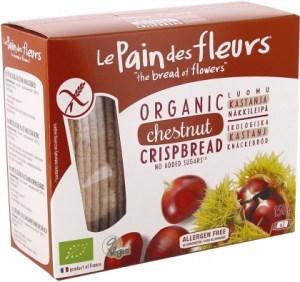 LePain des Fleurs Organic Chestnut Crispbread NAS  150g
