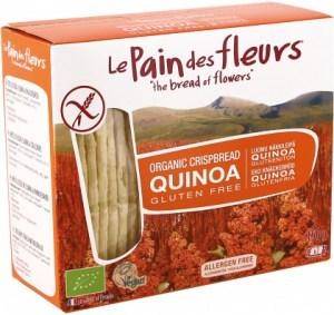 LePain des Fleurs Organic Quinoa Crispbread  150g
