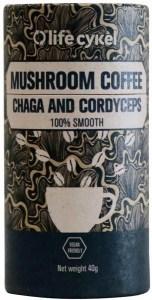 Life Cykel Mushroom Coffee Chaga and Cordyceps 40g