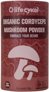 Life Cykel Organic Cordyceps Mushroom Powder 100g