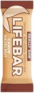 Lifebar Organic Energy Carob Hazelnut  15x47g