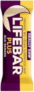 Lifebar Organic Plus Acai Banana  15x47g