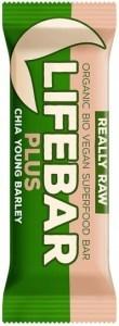 Lifebar Organic Plus Chia Young Barley  15x47g