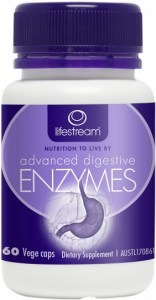 Lifestream Advanced Digestive Enzymes 60 caps