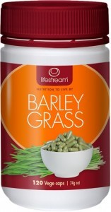 Lifestream Barley Grass Capsules 120 caps
