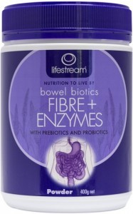 Lifestream Bowel Biotics Fibre+ Enzymes 400gm Powder 400g