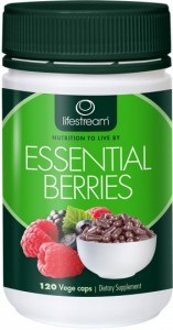 Lifestream Essential Berries Capsules 120 caps