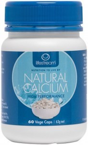 Lifestream Natural Calcium Capsules 60 caps
