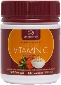 Lifestream Natural Vitamin C Capsules 90 caps
