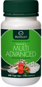 Lifestream Nature's Multi Advanced Capsules 60 caps