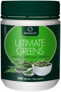 Lifestream Ultimate Greens Capsules 250 caps