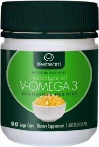 Lifestream Microalgae V-Omega 3 90 caps