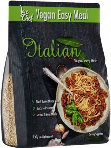 Live Chef Vegan Easy Meal Italian 150g