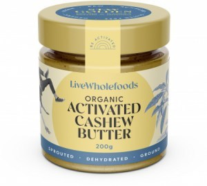 Live Wholefoods Organic Activated Cashew Butter  200g