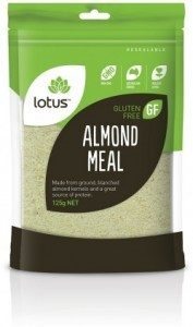 Lotus Almond Meal OA* 125gm