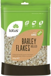 Lotus Barley Flakes Rolled 500g