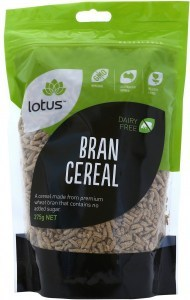 Lotus Bran Cereal NAS 375gm