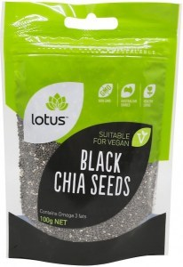 Lotus Chia Seeds Black  100g