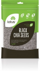 Lotus Chia Seeds Black  1Kg