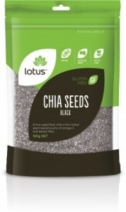 Lotus Chia Seeds Black  500g