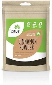 Lotus Cinnamon Organic  70g