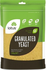 Lotus Granulated Yeast 100gm