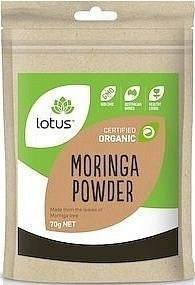 Lotus Moringa Powder Organic 70g