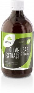 Lotus Olive Leaf Extract Peppermint 500ml