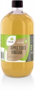 Lotus Organic Apple Cider Vinegar with Mother 1L