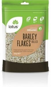 Lotus Organic Barley Flakes  250gm