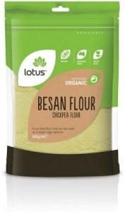 Lotus Organic Besan Flour 500gm