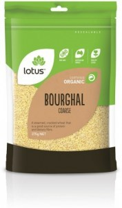 Lotus Organic Bourghal Coarse 375gm