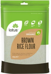 Lotus Organic Brown Rice Flour 500g