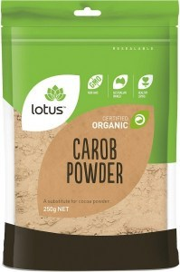 Lotus Organic Carob Powder  250gm