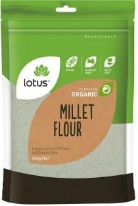 Lotus Organic Millet Flour 500gm