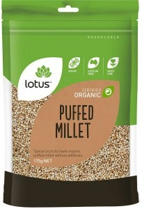 Lotus Organic Millet Puffed 175gm