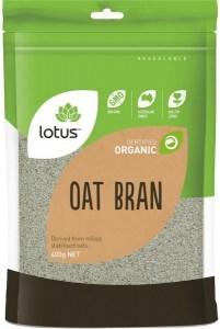Lotus Organic Oatbran 400gm