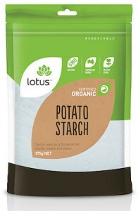 Lotus Organic Potato Flour 375g