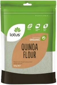 Lotus Organic Quinoa Flour 500gm