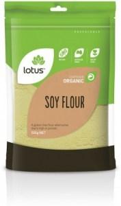 Lotus Organic Soy Flour 500gm