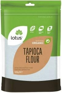 Lotus Organic Tapioca Flour 500g