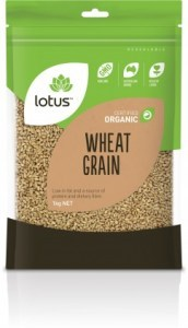 Lotus Organic Wheatgrain 1kg