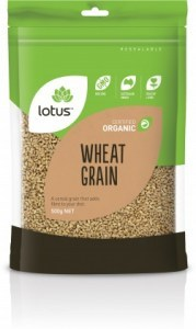 Lotus Organic Wheatgrain  500gm
