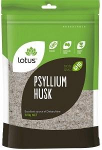 Lotus Psyllium Husk 98% 500g